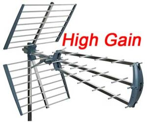High gain TV antenna Perth.